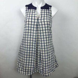Madewell Shirt Dress Embroidered Sunray Sz XXS